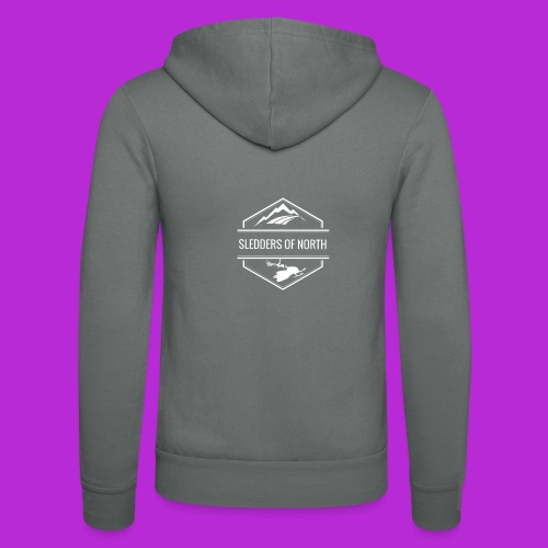 Women Long-Sleeved T-Shirt - Unisex Hooded Jacket by Bella + Canvas