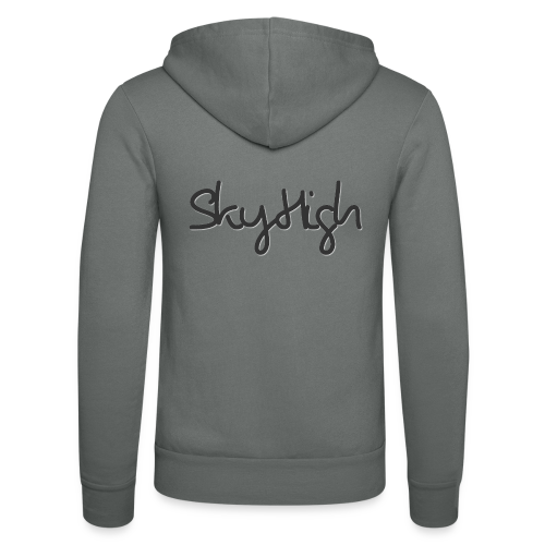 SkyHigh - Women's Premium T-Shirt - Black Lettering - Unisex Hooded Jacket by Bella + Canvas