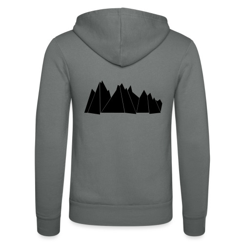 BlackMountains - Unisex Kapuzenjacke von Bella + Canvas