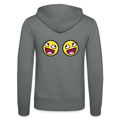 Boxers lolface 300 fixed gif - Unisex Hooded Jacket by Bella + Canvas