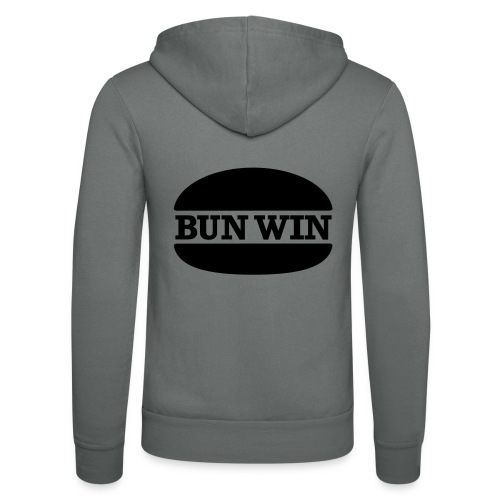 bunwinblack - Unisex Hooded Jacket by Bella + Canvas