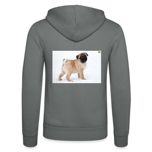 walker family pug merch - Unisex Hooded Jacket by Bella + Canvas