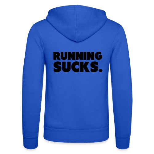 Running Sucks - Unisex Bella + Canvas -hupputakki