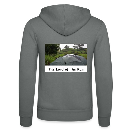 The Lord of the Rain - Neuseeland - Regenschirme - Unisex Kapuzenjacke von Bella + Canvas