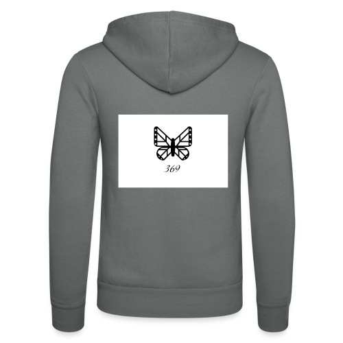 BUTTERFLY DESIGN 369 - Unisex Kapuzenjacke von Bella + Canvas