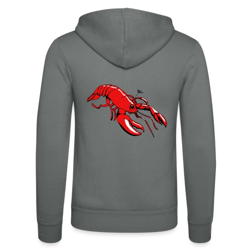Lobster - Unisex Hooded Jacket by Bella + Canvas