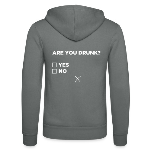 Are You Drunk - Unisex hoodie van Bella + Canvas