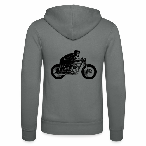 Cafe Racer 1c - Unisex Hooded Jacket by Bella + Canvas