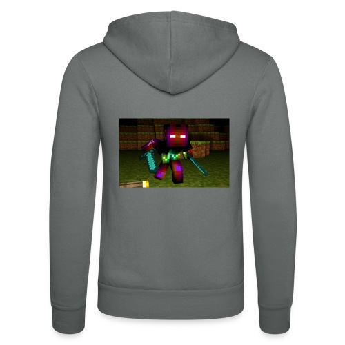 AwesomeSauce Minecraft 2 Swords - Unisex Hooded Jacket by Bella + Canvas