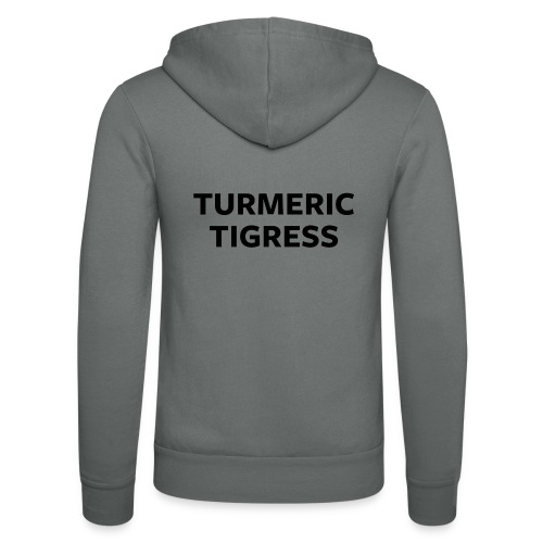 Turmeric Tigress - Unisex Hooded Jacket by Bella + Canvas