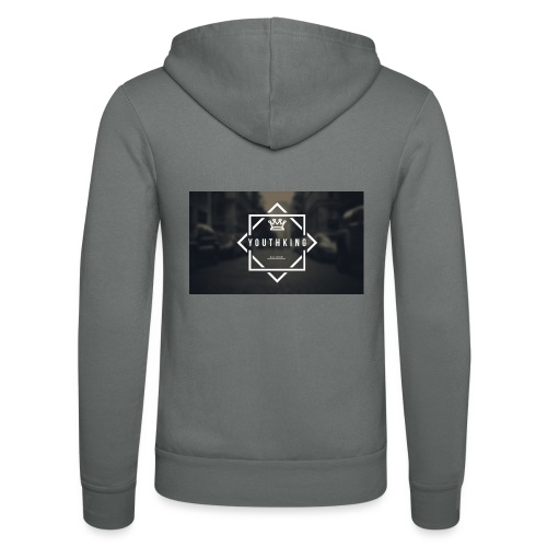 Youth King logo - Unisex Hooded Jacket by Bella + Canvas