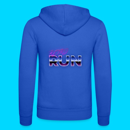 Retro Run Merch - Unisex Hooded Jacket by Bella + Canvas