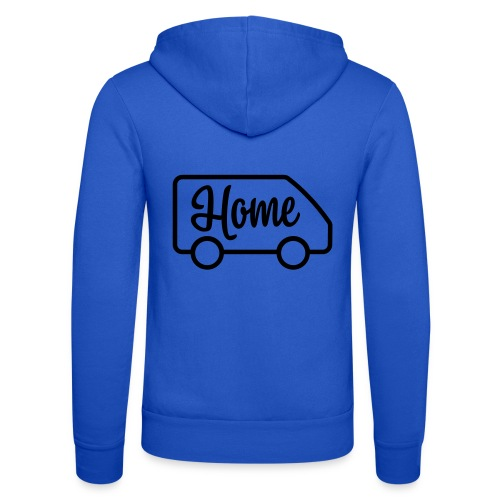 Home in a van - Autonaut.com - Unisex Hooded Jacket by Bella + Canvas