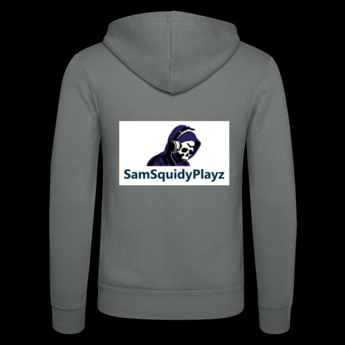 SamSquidyplayz skeleton - Unisex Hooded Jacket by Bella + Canvas