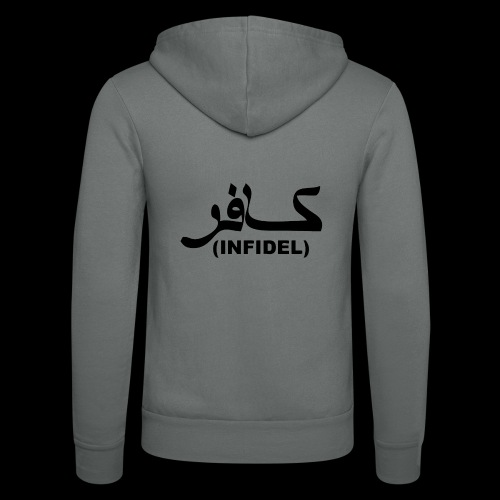 INFIDEL - Unisex Hooded Jacket by Bella + Canvas