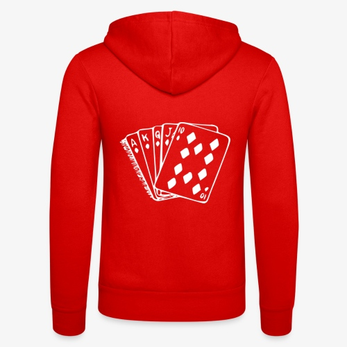 Royal FLUSH - Unisex Kapuzenjacke von Bella + Canvas