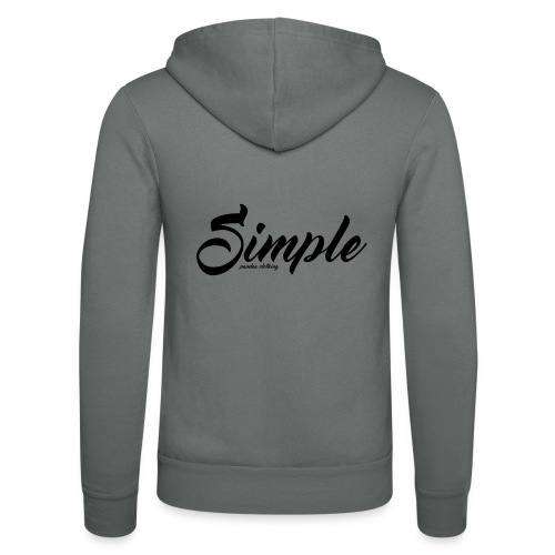 Simple: Clothing Design - Unisex Hooded Jacket by Bella + Canvas
