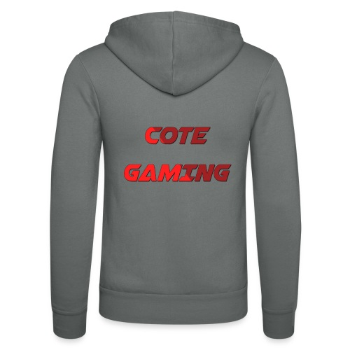 Cote Sweater Rode Letters - Unisex Hooded Jacket by Bella + Canvas