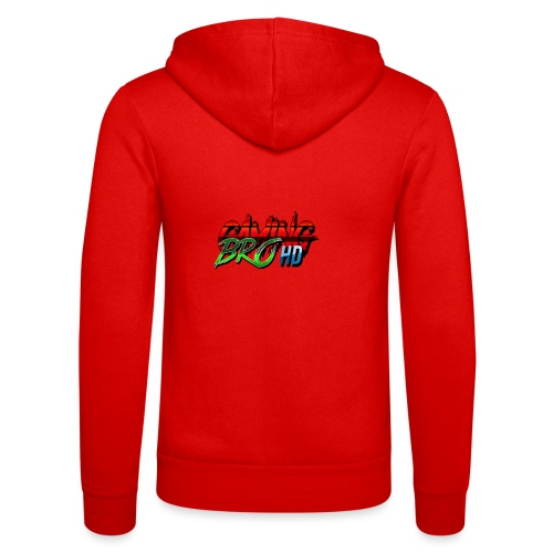 gamin brohd - Unisex Hooded Jacket by Bella + Canvas