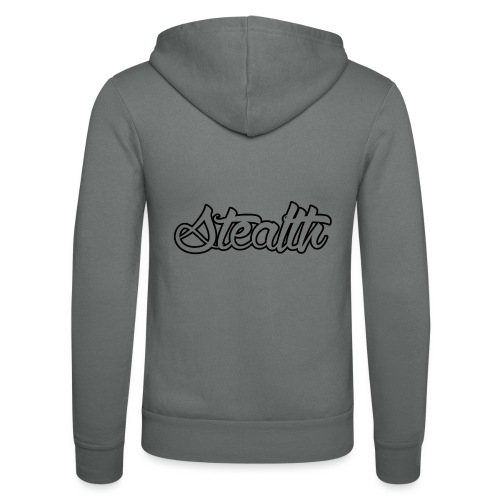 Stealth White Merch - Unisex Hooded Jacket by Bella + Canvas