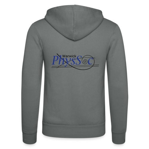 Official Warwick PhysSoc T Shirt - Unisex Hooded Jacket by Bella + Canvas