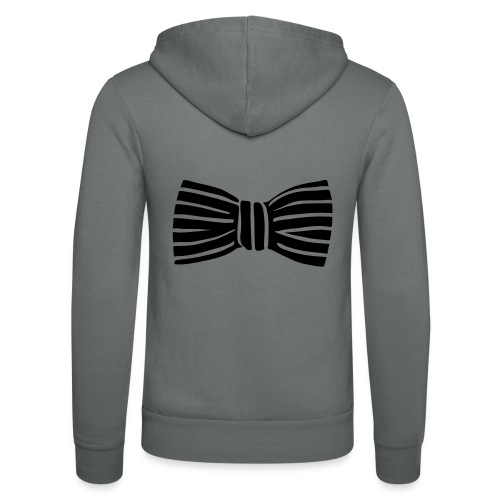 bow_tie - Unisex Hooded Jacket by Bella + Canvas