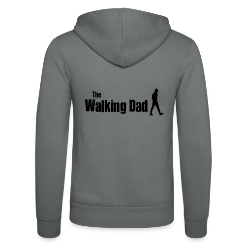 the walking dad - Unisex Hooded Jacket by Bella + Canvas