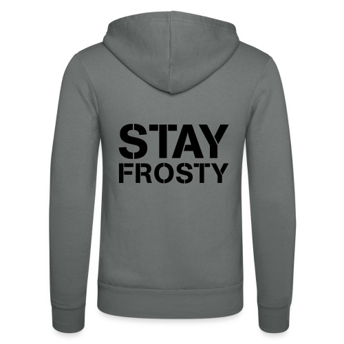 Stay Frosty - Unisex Hooded Jacket by Bella + Canvas