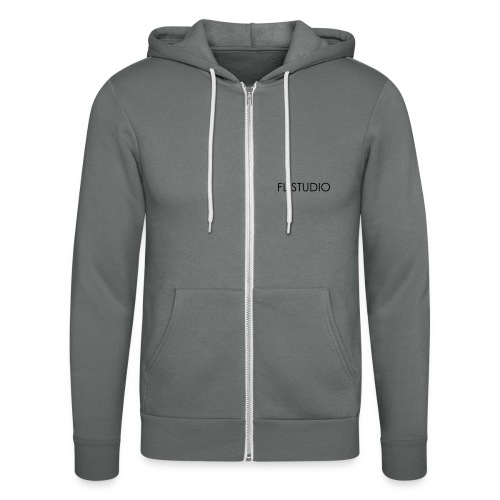 FL Studio Name 1 ColorEPS - Unisex Hooded Jacket by Bella + Canvas