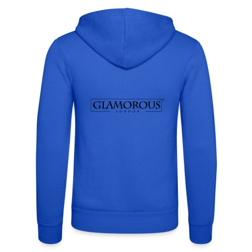Glamorous London LOGO - Unisex Hooded Jacket by Bella + Canvas