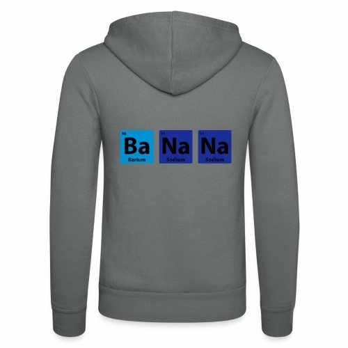 Periodic Table: BaNaNa - Unisex Hooded Jacket by Bella + Canvas