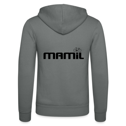 mamil1 - Unisex Hooded Jacket by Bella + Canvas