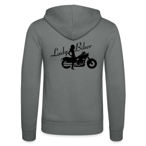 Lady Biker - Custom bike - Unisex Bella + Canvas -hupputakki