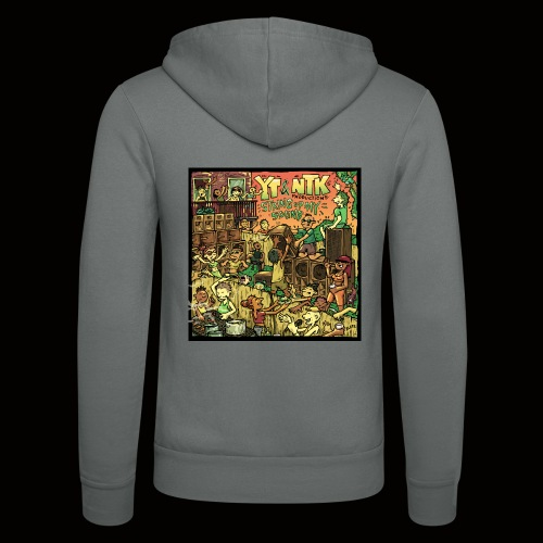 String Up My Sound Artwork - Unisex Hooded Jacket by Bella + Canvas