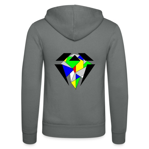 J.O.B. Diamant Colour - Unisex Kapuzenjacke von Bella + Canvas