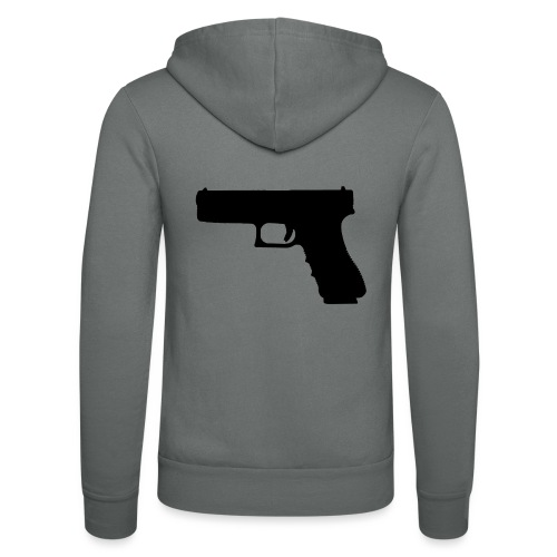 The Glock 2.0 - Unisex Hooded Jacket by Bella + Canvas
