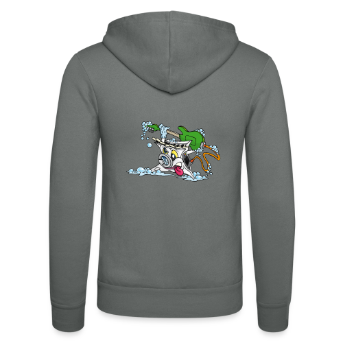 Wicked Washing Machine Wasmachine - Unisex hoodie van Bella + Canvas