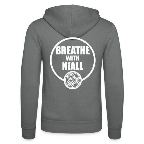 Breath with Niall Tshirt - Unisex Hooded Jacket by Bella + Canvas
