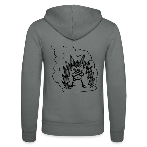 Whos A Chicken? - Unisex Hooded Jacket by Bella + Canvas