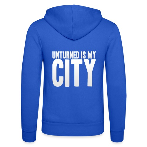 Unturned is my city - Unisex Hooded Jacket by Bella + Canvas