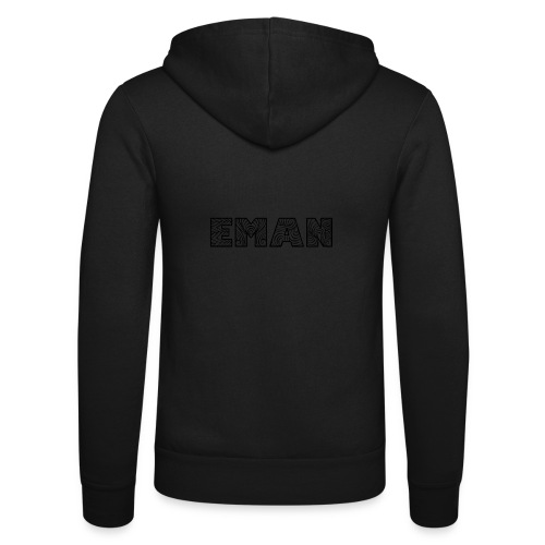 eman name - Unisex Hooded Jacket by Bella + Canvas