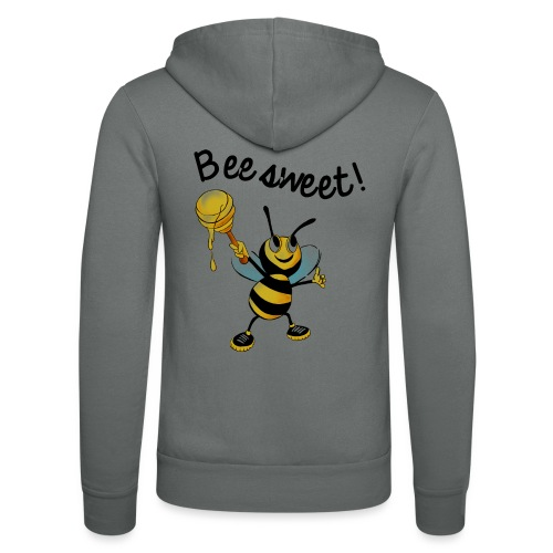 Bees7-2 Bienen sind süß | save the bees - Unisex Hooded Jacket by Bella + Canvas