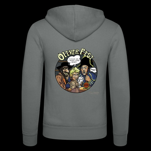 Oliver Pist - Unisex Hooded Jacket by Bella + Canvas