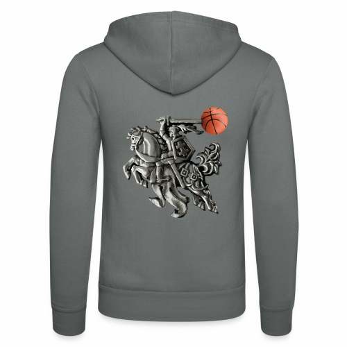 Lithuania basketball - Unisex Hooded Jacket by Bella + Canvas
