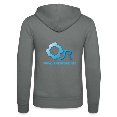 Official Logo - Unisex Hooded Jacket by Bella + Canvas
