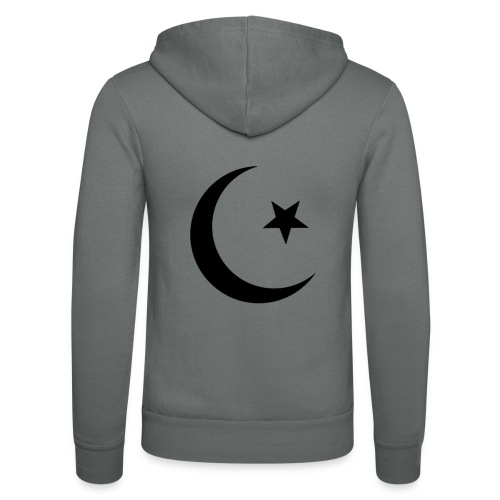 islam-logo - Unisex Hooded Jacket by Bella + Canvas