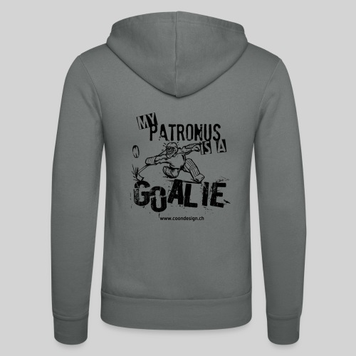 My Patronus is a Goalie - Unisex Kapuzenjacke von Bella + Canvas