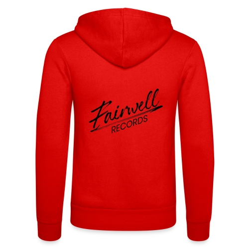 Fairwell Records - Black Collection - Unisex hættejakke fra Bella + Canvas