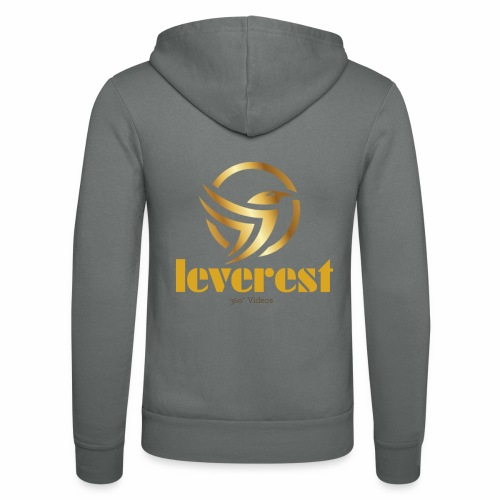 Leverest-Mode - Unisex Kapuzenjacke von Bella + Canvas