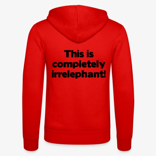 Irrelephant - Unisex Kapuzenjacke von Bella + Canvas